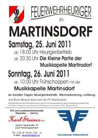 FF Heuriger Plakat