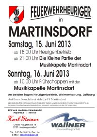 Plakat FF Heuriger