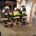 Brandverdacht (B1) – Schrick (Wieskugelweg)