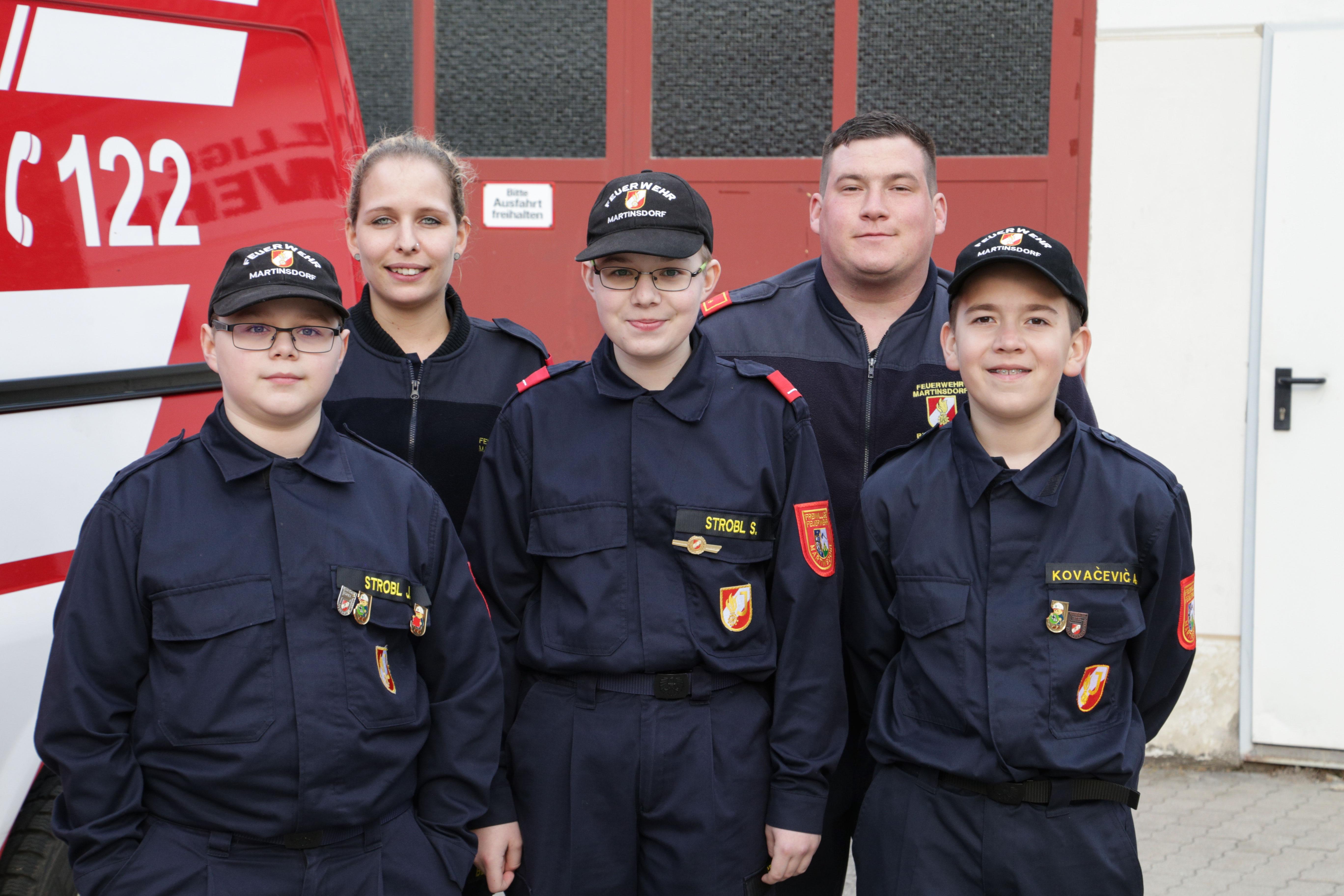 Wissenstest Feuerwehrjugend - Wilfersdorf
